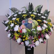 №8059 供花スタンド(フルーツ入り)