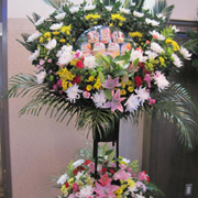 №8063 供花スタンド(缶詰入り)